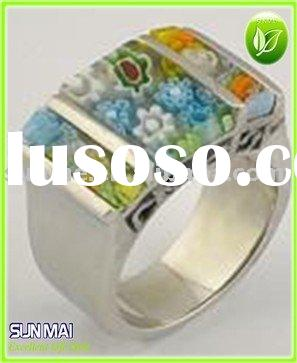 Hot-Selling 316L stainless steel murano rings