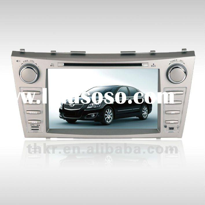 Large digital screen 8 inch High definition touch screen Toyota Camry GPS 2 Din Car DVD/ Auto Radio