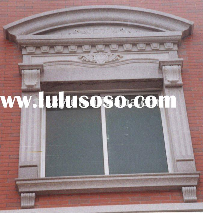Marble decorative stone window frame