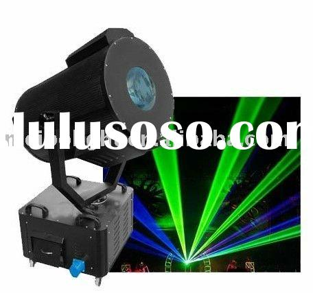 Moving Head Green Color Outdoor Laser Light