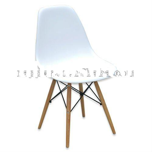 New White Eames Eiffel Style DSW Lounge Dining Chair