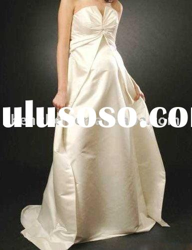 New arrival Y-15 pretty Pregnant women bridal wedding dress