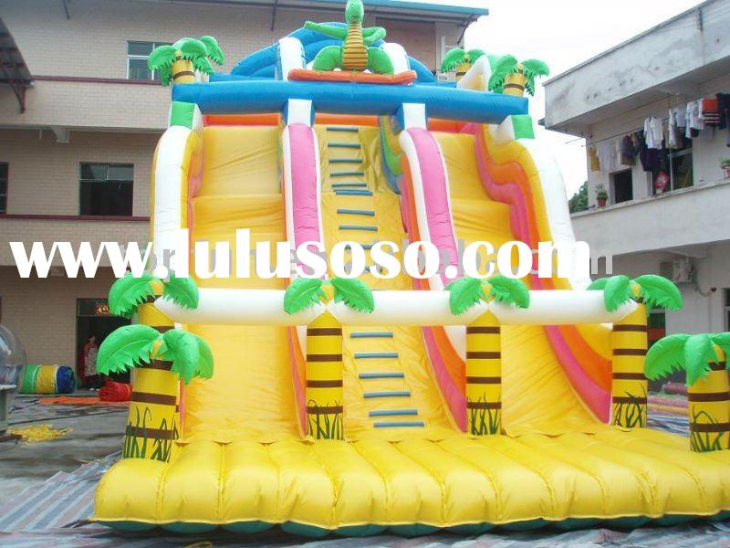 On sale-2012 hot selling giant inflatable PVC slide(inflatable water slide is available and OEM serv