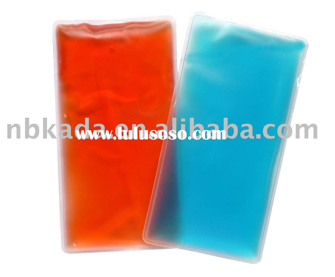 PVC gel hot cold compress,reusable cold hot therapy pack