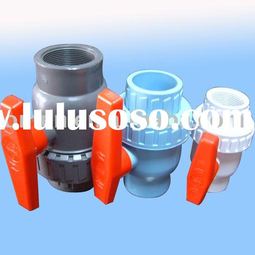 PVC union valve(PVC Single Union Ball Valve)