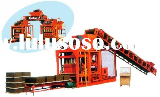 QTJ4-40 small manual block and brick making machine