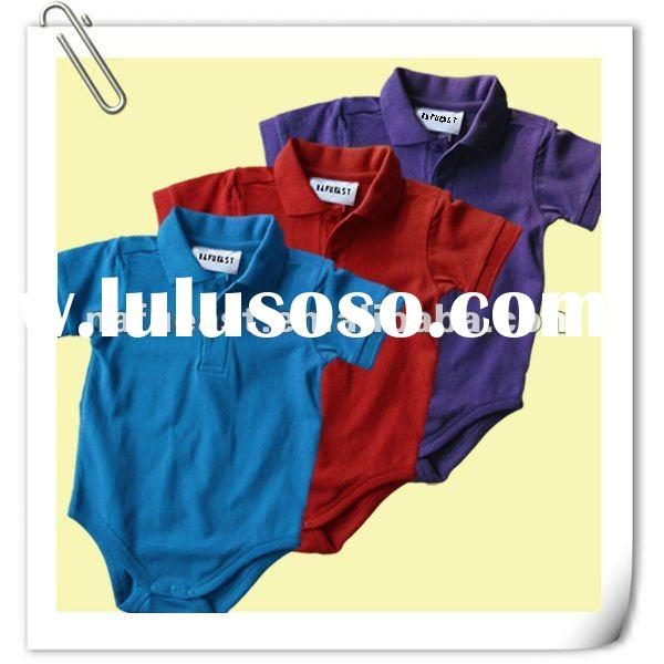 Soft Handfeel Cotton Short Sleeve Baby Clothes