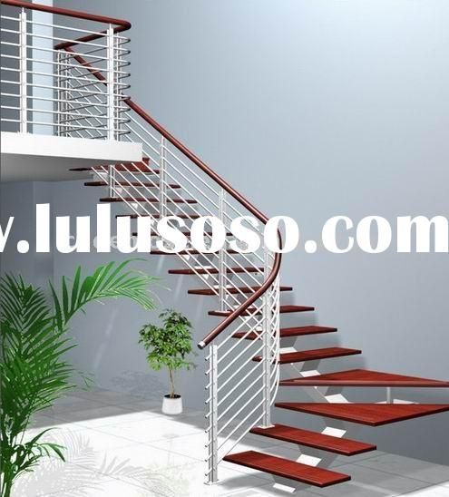 Staircase,extremely nice! Steel Wood Stair(DMS-6929)