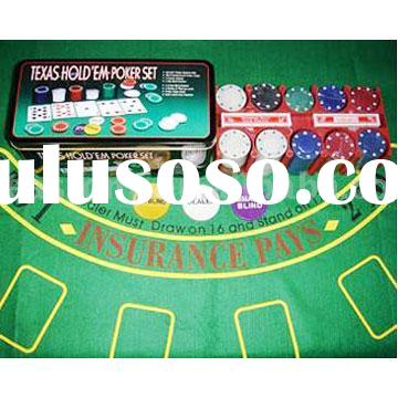 Texa Hold'em Poker Chips Set
