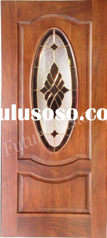 used wood exterior door for sale price china. Black Bedroom Furniture Sets. Home Design Ideas