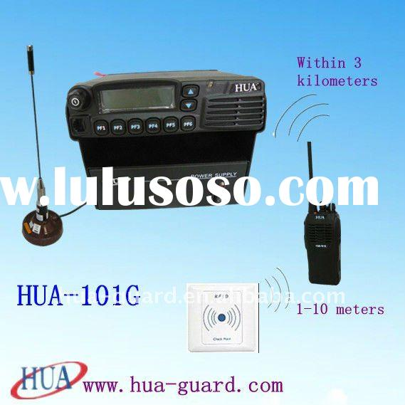 Wireless rfid access control system guard tour