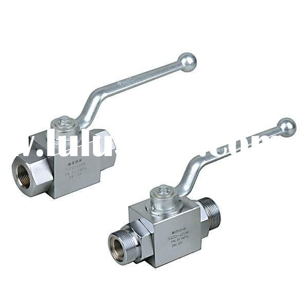 YJZQ series high pressure ball valve