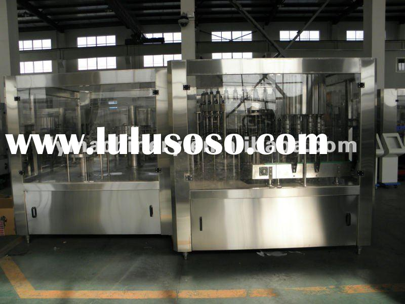 automatic water bottling and filling plant