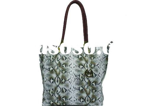 fashion Michael Kors Large Darrington Python-Embossed Shoulder Tote bags, designer MK handbags