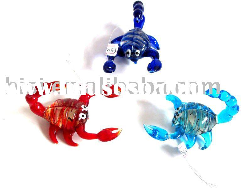 glass murano pipes animal shaped for sale price. Black Bedroom Furniture Sets. Home Design Ideas