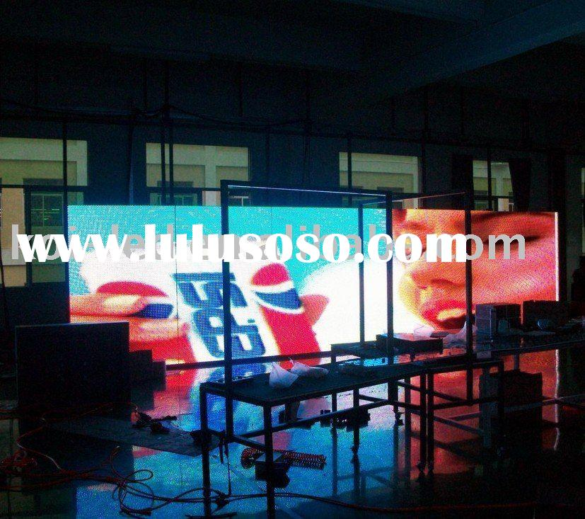 high quality P20 Outdoor Full Color LED Video Board