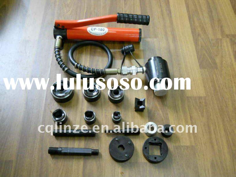 hydraulic metal hole punch