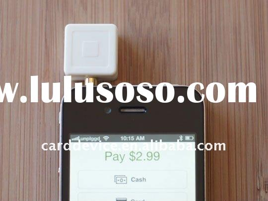mobile credit card reader for iphone andriod with 3.5mm audio jack