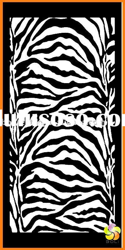 white black Zebra stripe Beach bath Towel Printed