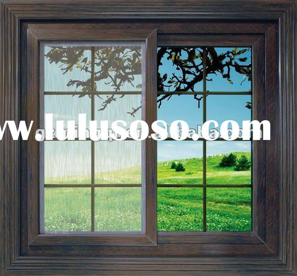 PVC Office Sliding Glass Window And Door For Sale