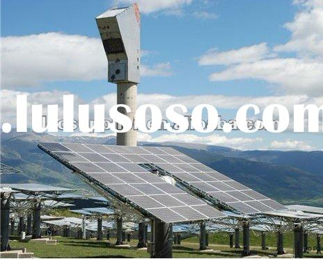 10KW flat roof mounting rack high efficiency on-grid photovoltaic solar power system
