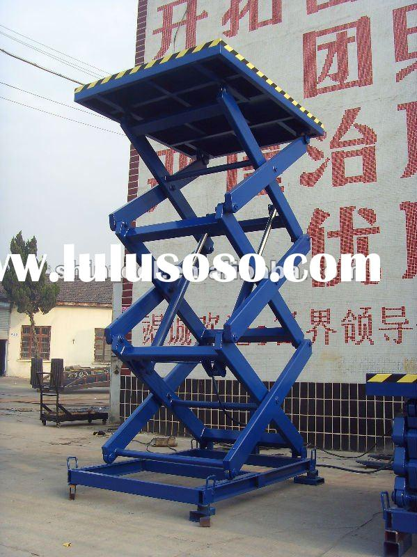 1 ton Stationary hydraulic electric lift table