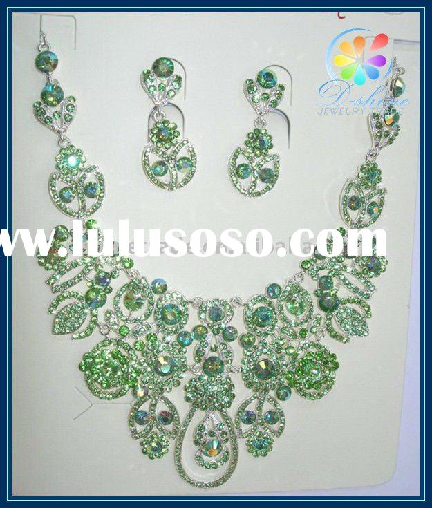 2011 fashion bridal diamond necklace settings indian bridal necklace set