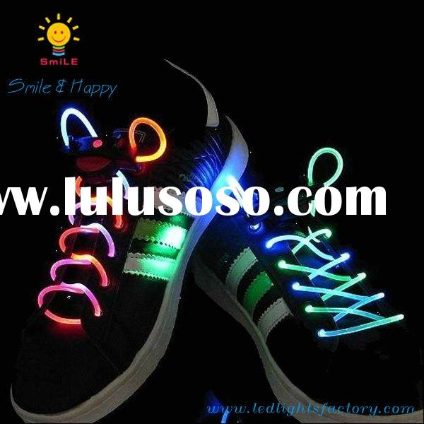 2011 new hot sale pink green led flashing shoes adult