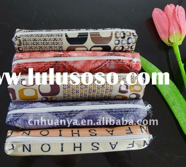 2011 newest clear plastic pencil case