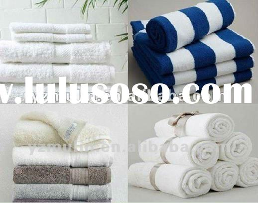 2012 Hot Sale !!! Supply Hotel 100% Cotton bath,hand,face Towels