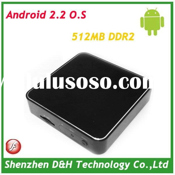 2012 Newest internet tv box android digital satellite receiver set top box