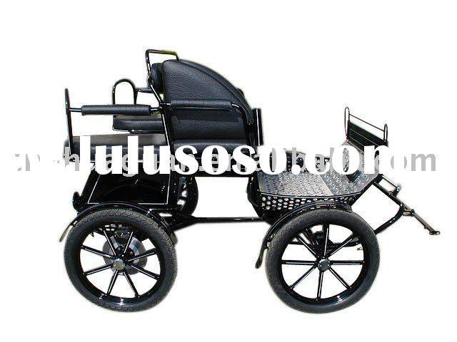2012 hot-sell top grade leisure marathon horse cart
