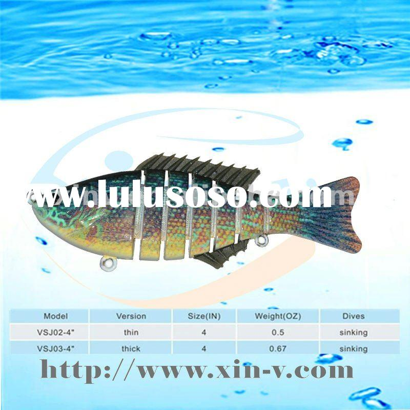 2012 hottest sale multi jointed fishing tackle