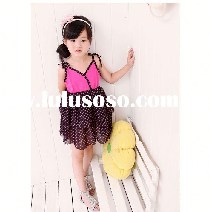 2012 new design lovely rabbit girls' dresses&T-shirts for summer children ballet dress