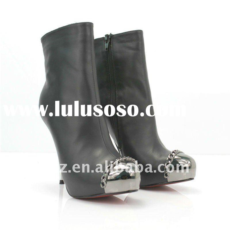 2012 steel toes high heel women dress shoes CLS034 paypal