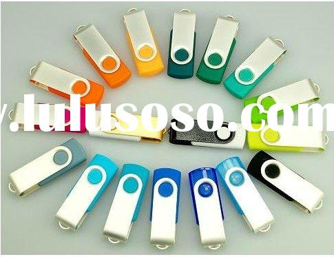 2012 swivel usb flash drive;custom logo flash memory stick2gb,8gb;promotional usb stick