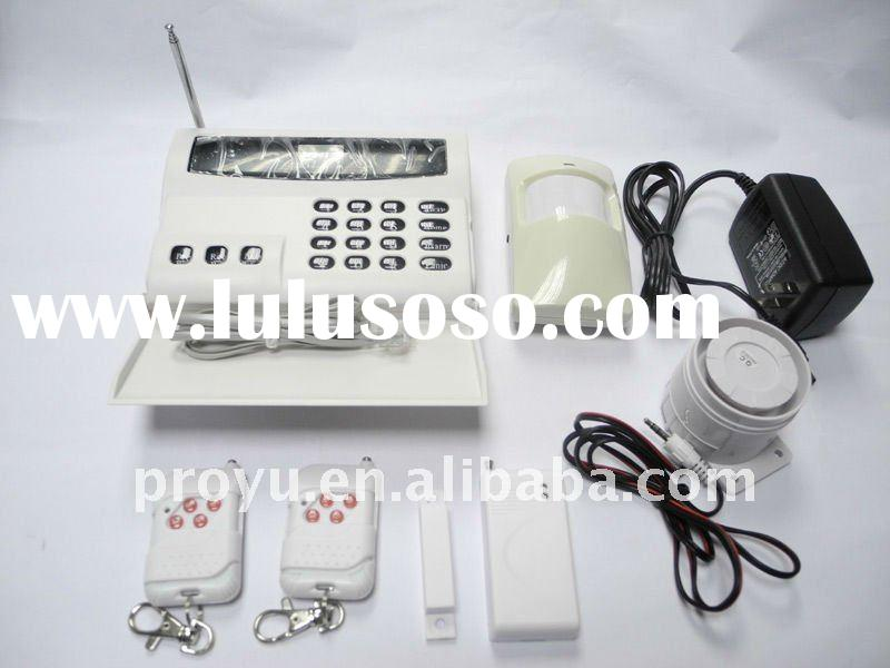 32 zones Wireless Digital Home Security Alarm System use with PSTN telephone line PY-A3