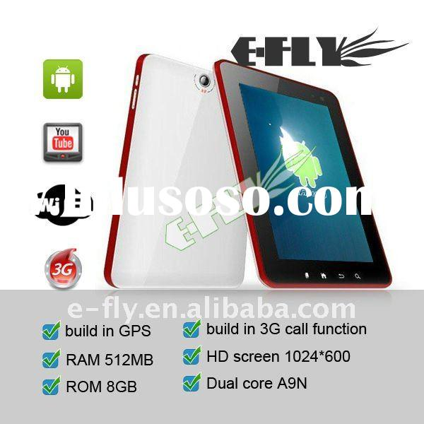 7 inch A9N Dual-core dual camera 512M 8GB built-in 3G tablet pc capacitive phone making tablet pc