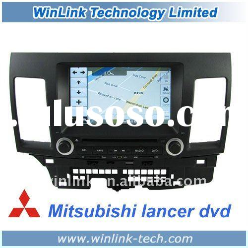 8 inch 2 Din HD Touch screen Car TV For Mitsubishi Lancer With Steering Wheel Control