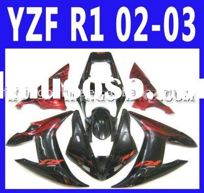 ABS Motorcycle Fairings For Yamaha YZF-R1 2002 2003