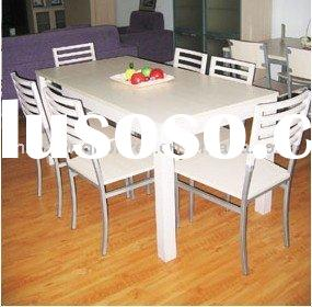 Acrylic top dining table