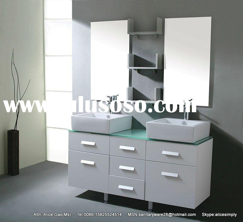 Brilliant White Bathroom Vanity