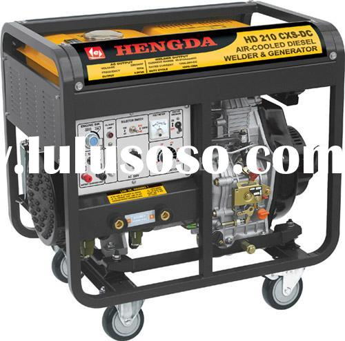 Brushless Diesel Engine DC ARC Welder and Generator Set