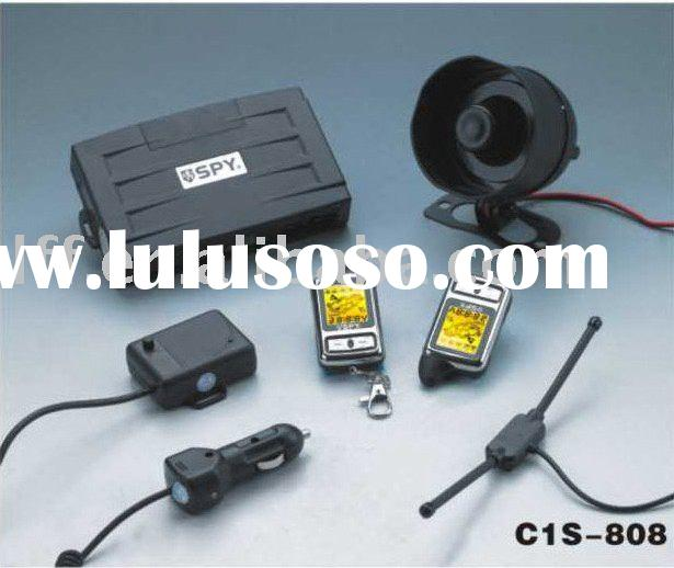C1S-808 two way LCD car alarm system with remote engine start