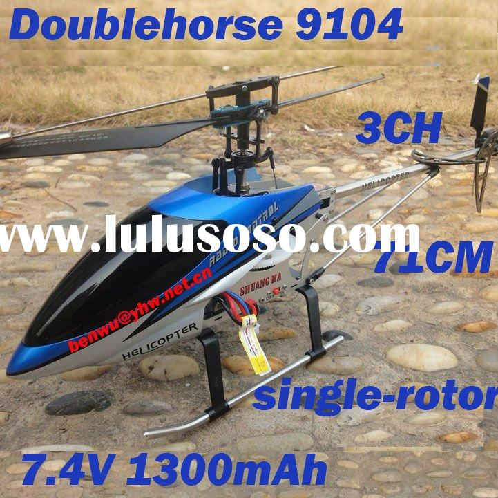 Christmas Gift Double Horse 9104 3CH RC Helicopter for adult 71cm 3.5 CH Co-Axial single-screw Rc to