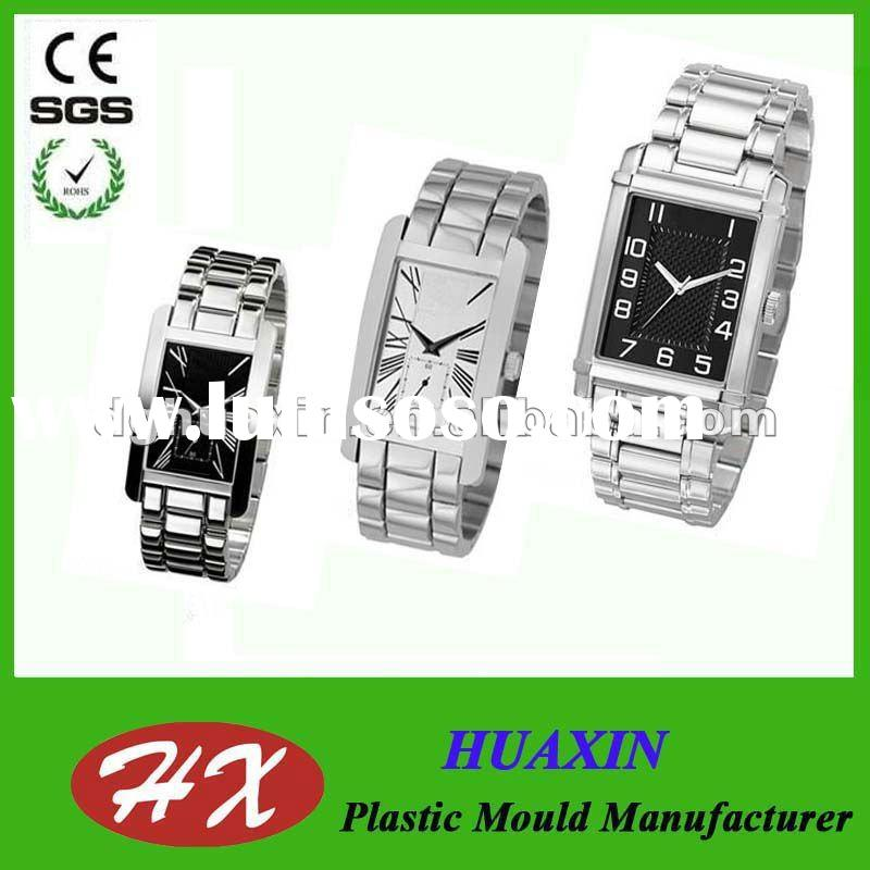 Classical design japan movt quartz watch stainless steel back for business men