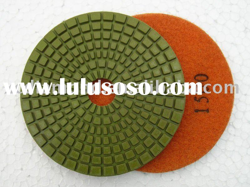 "Diamond Tool - 4.5"" angle grinder polishing pads D115z"