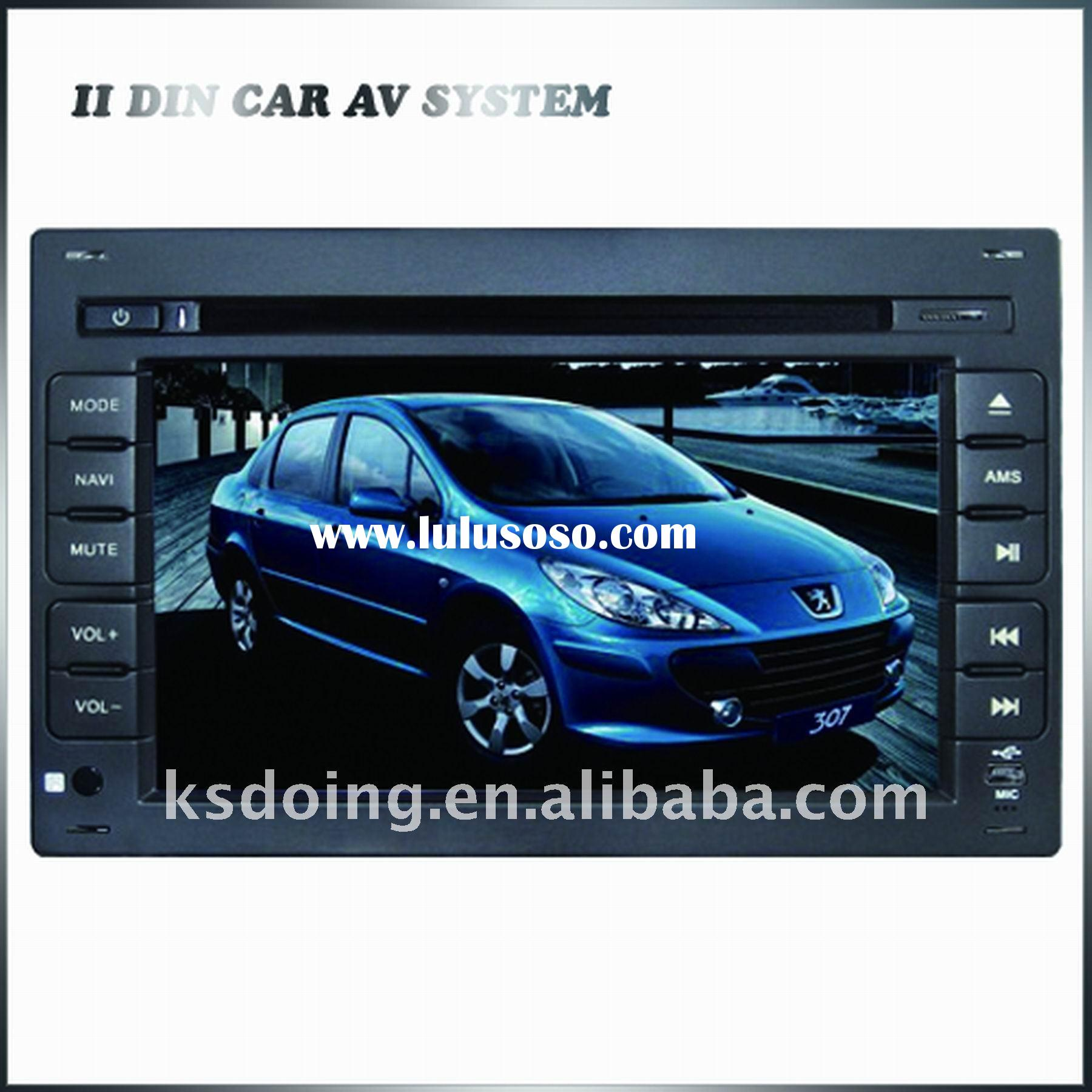 Double DIN Special Car DVD player PEUGEOT 307