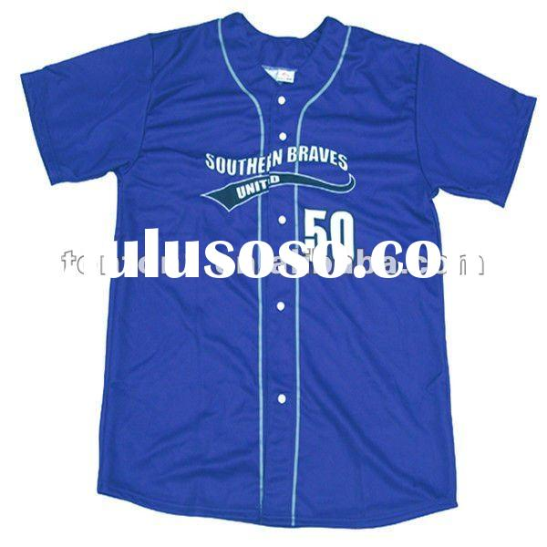 Dry fit function baseball jersey