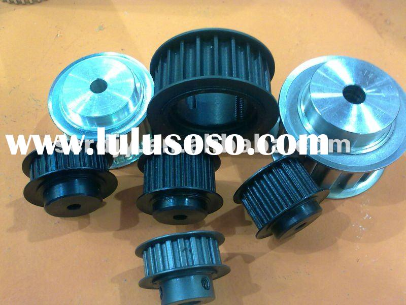 English and Metric Pitch Steel/Alluminum Timing Belt Pulleys